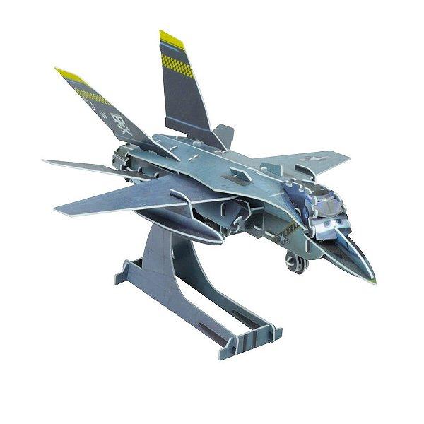 Quebra-Cabeça 3D - Aviões - Bravo - DTC