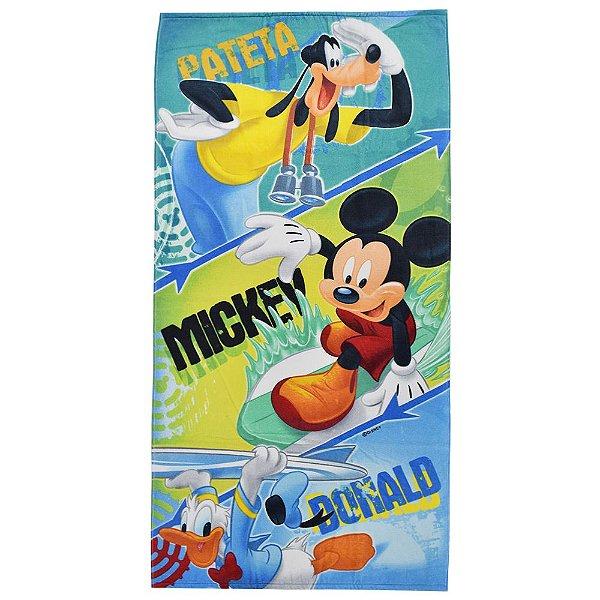 Toalha de Banho Aveludada - Turma do Mickey - Santista
