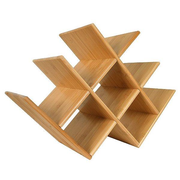 Rack para Vinho em Bamboo - Mor