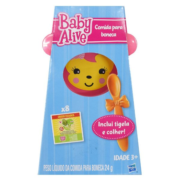 Refil de Comida para Boneca Baby Alive - Hasbro