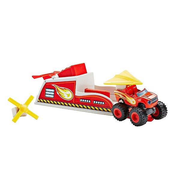 Blaze Turbo Lançador - Blaze And The Monsters Machine