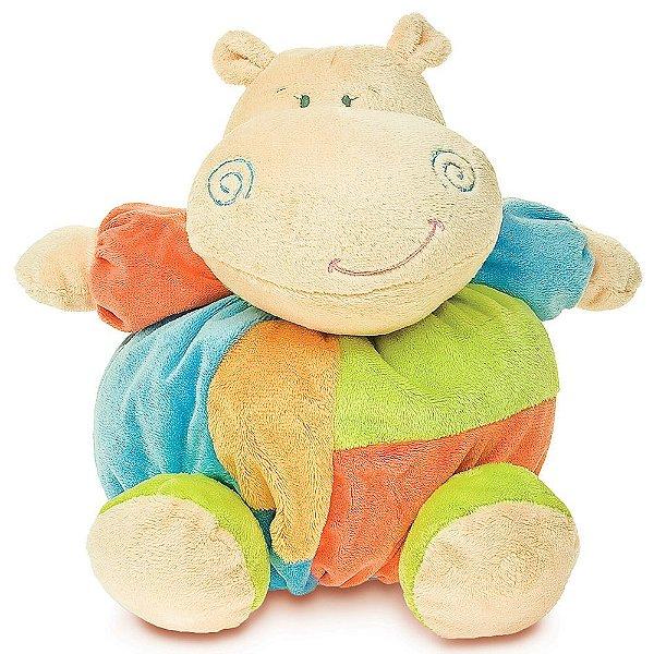Pelúcia Turminha Bolinha - Hipopótamo - Buba