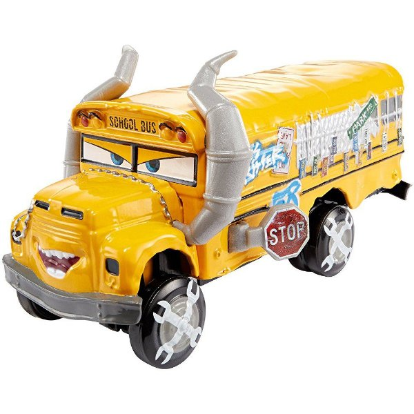 Carros 3 Deluxe - Miss Fritter - Mattel