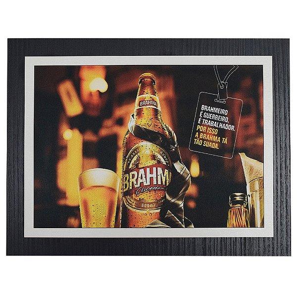 Quadro Decorativo Brahma - 30 x 23 cm
