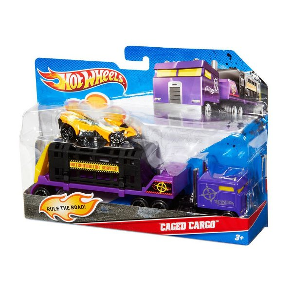 Hot Wheels Truckin' Transporters - Caged Cargo - Mattel