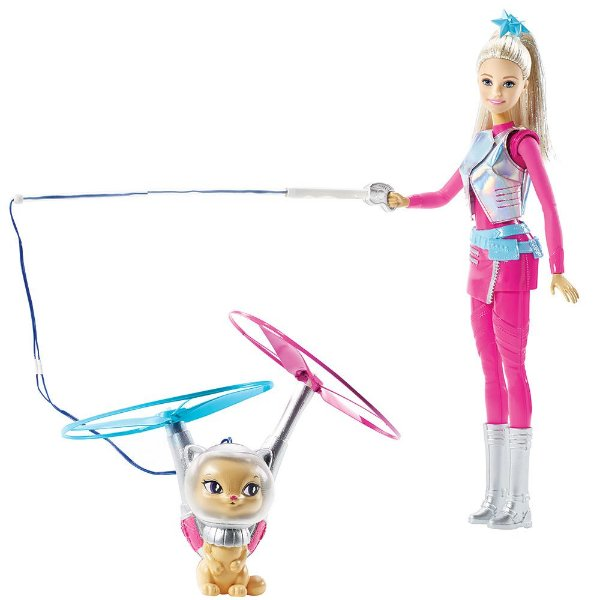 Barbie Galáctica e Gatinho Voador - Mattel
