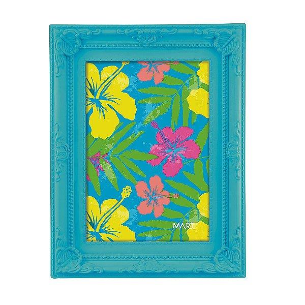 Porta Retrato Neon Azul 10 x 15 - Mart