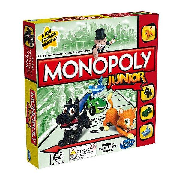 Jogo Monopoly Junior - Hasbro