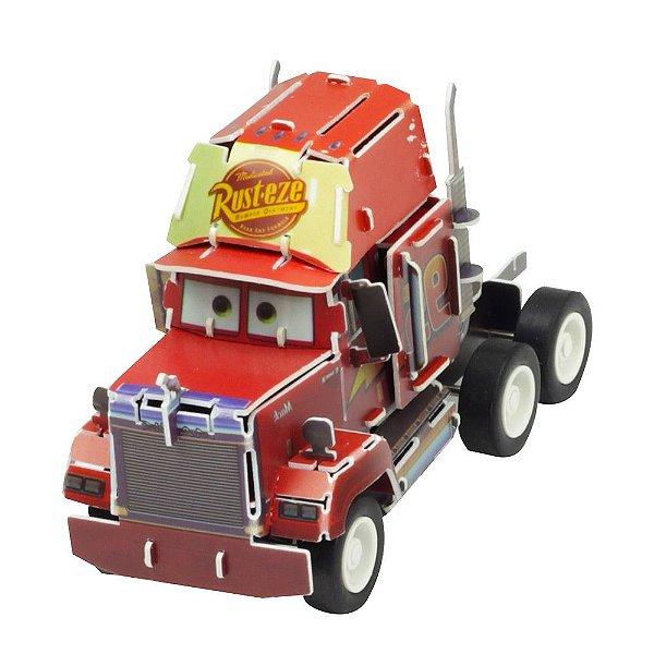 Quebra-Cabeça 3D - Carros - Mack - DTC