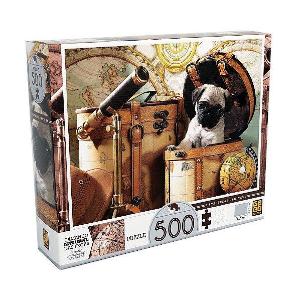 Quebra-Cabeça Aventuras Caninas - Grow