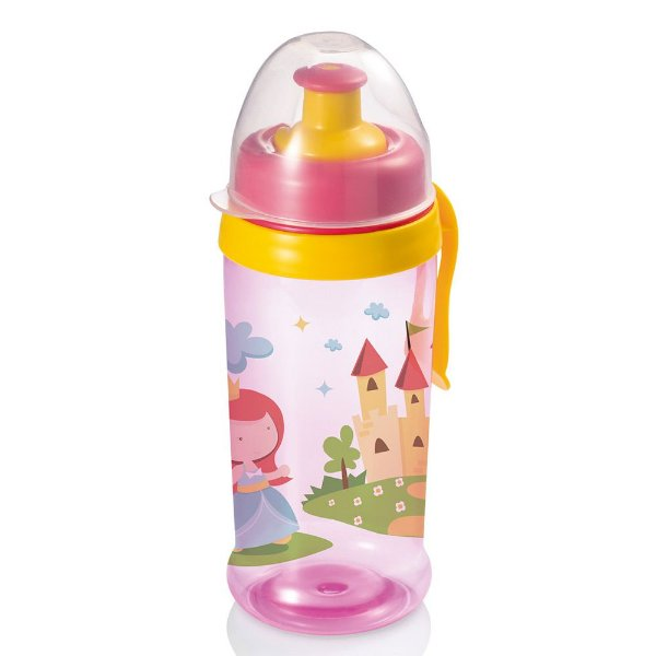 Copo Squeeze Grow Rosa - Multikids