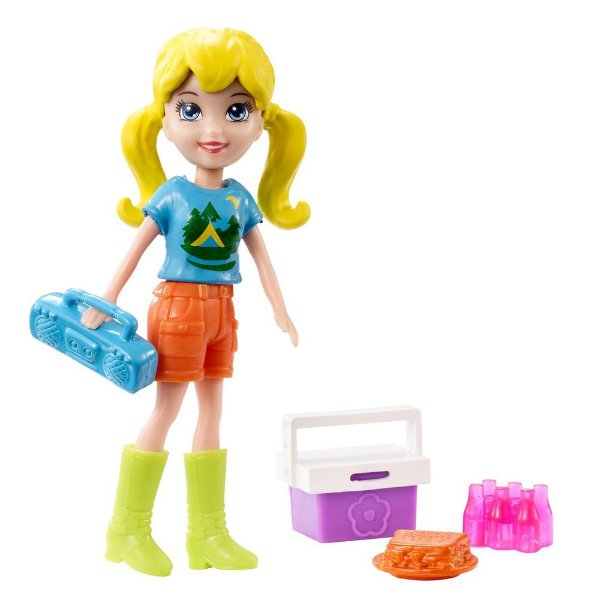 Polly Pocket Acampamento - Polly - Mattel