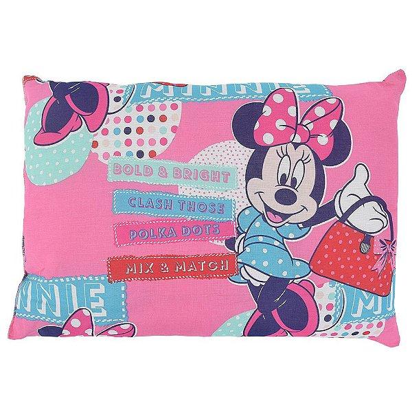Travesseiro Infantil Disney - Minnie Mix - Santista