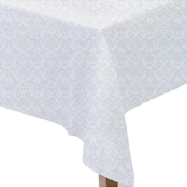 Toalha de Mesa Neo Clássico - 1,60m x 3,20m - Branco