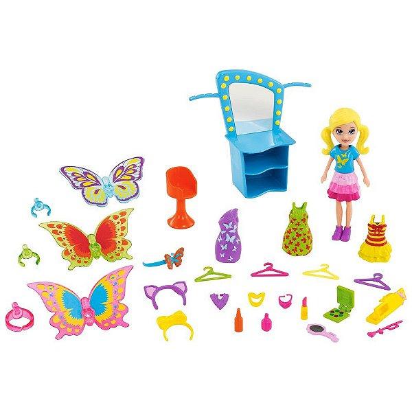Polly Pocket - Fantasias de Borboleta - Mattel