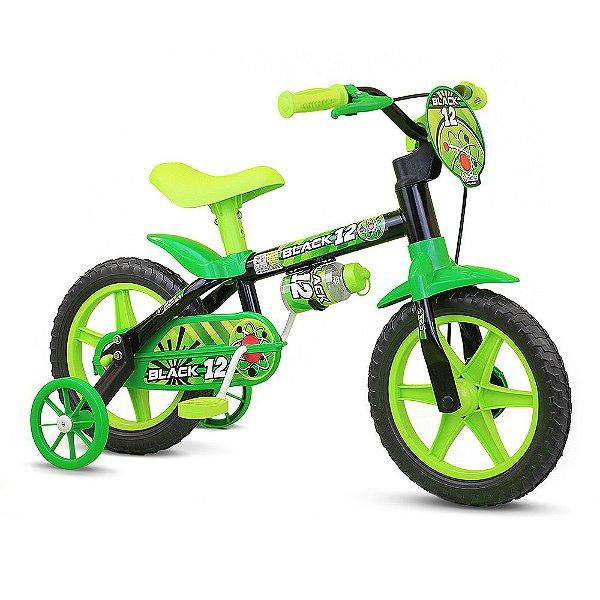 Bicicleta Black 12 - Aro 12 - Nathor