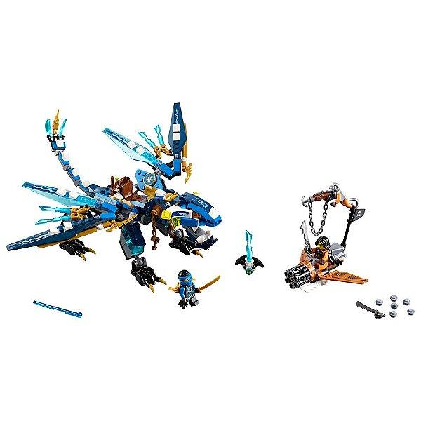 Lego Ninjago - Dragão Elemental do Jay