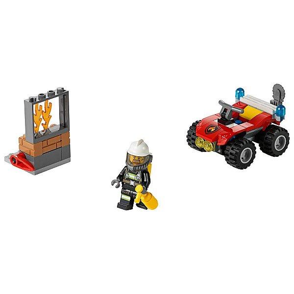 Lego City - Veículo Off-Road de Combate ao Fogo
