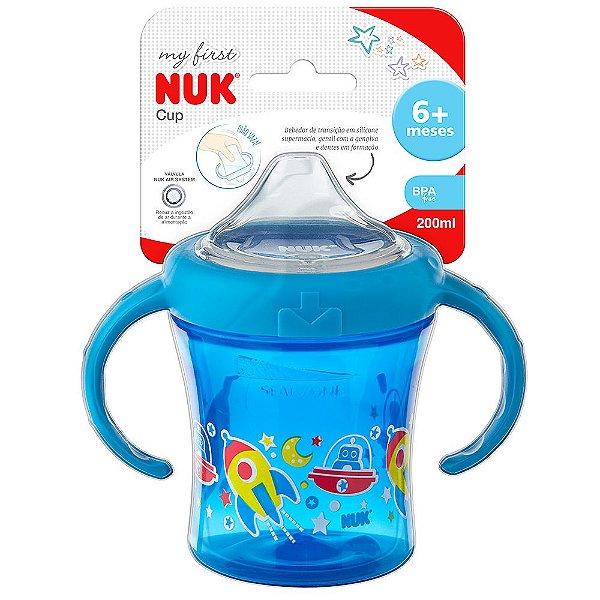 Copo de Treinamento My First Azul - 200ml - Nuk
