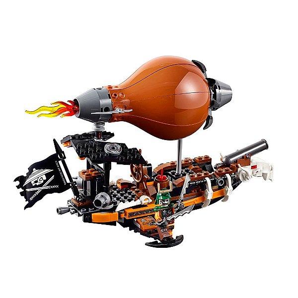 Zepelim de Ataque - Lego Ninjago