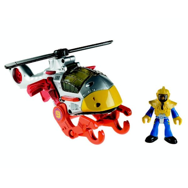 Imaginext Sky Racer - Helicóptero Falcão - Fisher-Price