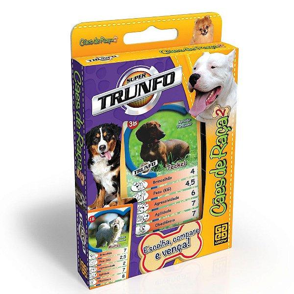 Jogo Super Trunfo - Cães de Raça 2 - Grow