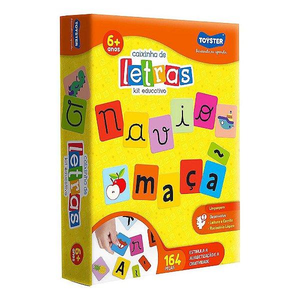 Caixinha de Letras - Kit Educativo - Toyster