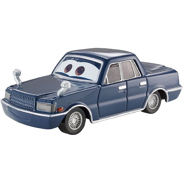Jesse Haullander - Disney Carros - Mattel