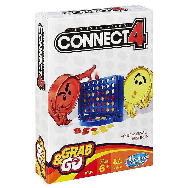 Jogo Connect 4 Grab & Go - Hasbro