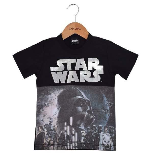 Camiseta Infantil Rogue One - Star Wars - Malwee