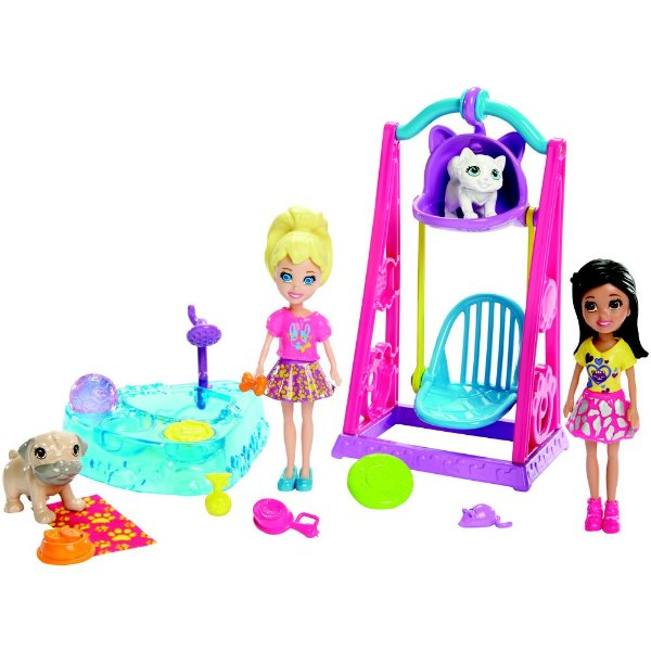 Polly Pocket - Brincando com Bichinhos - Mattel