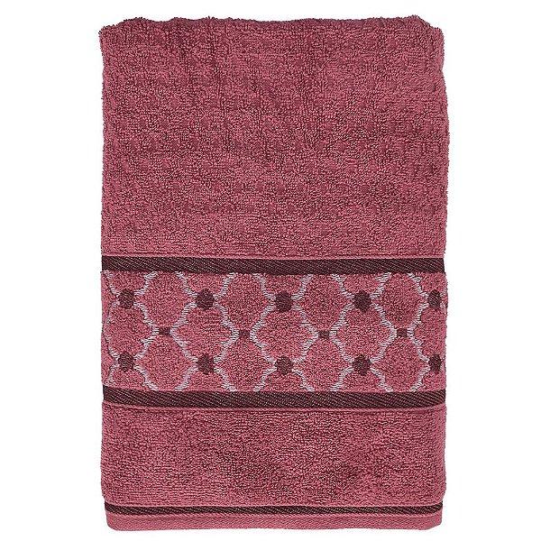 Toalha de Banho Versati Lavine - Rosa Escuro - Karsten