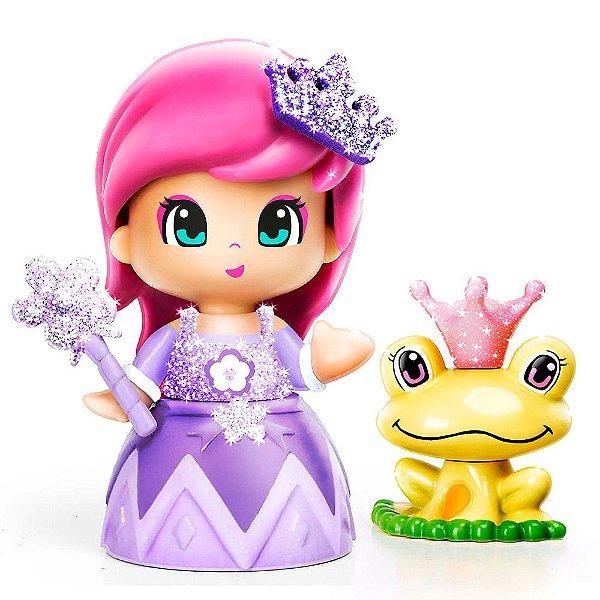 Boneca Pinypon Princesas - Vestido Lilás - Multikids