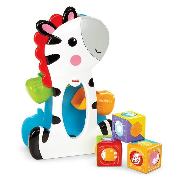 Zebra com Blocos - Fisher-Price