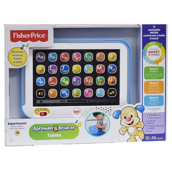 Tablet Divertido  Aprender e Brincar - Fisher Price