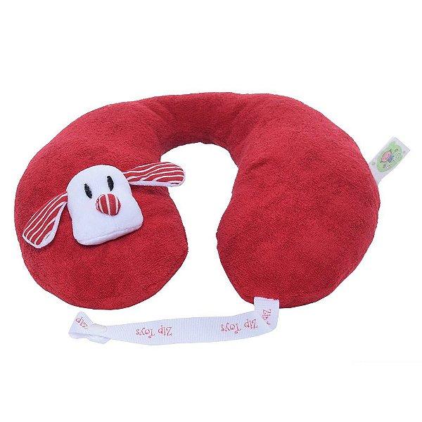Protetor de Pescoço Cachorrinho Vermelho - Zip Toys