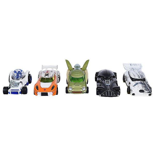 Hot Wheels - Especial Star Wars - 5 carros