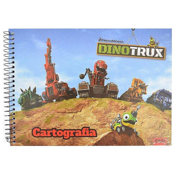 Caderno de Cartografia DinoTrux - Revvit