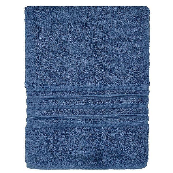 Toalha de Banhão Maxy Fio Penteado - Azul Escuro - Karsten