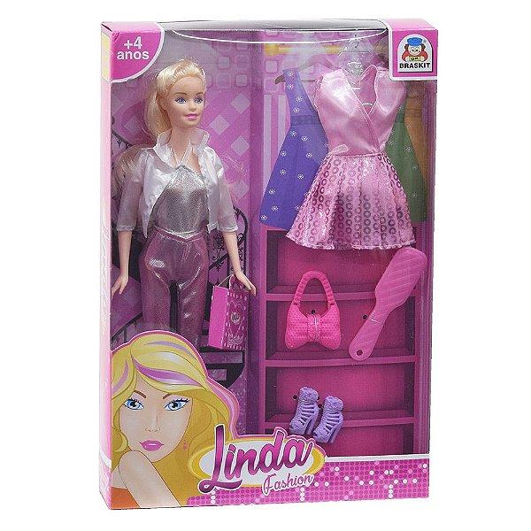 Boneca Linda Fashion - Braskit
