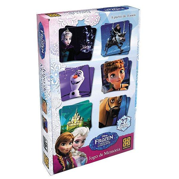 Jogo da Memória Frozen - Grow