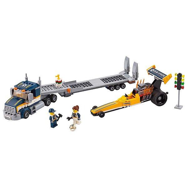 Lego City - Transportador de Dragster