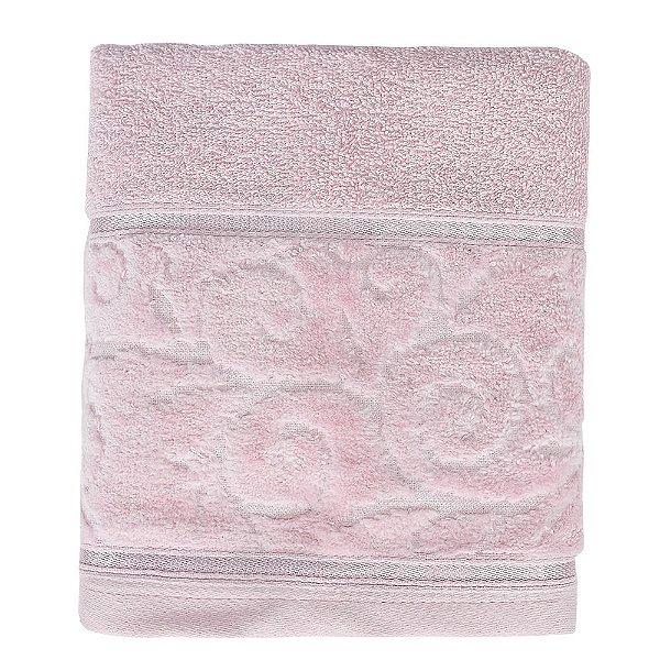Toalha de Rosto Unique Anette - Rosa Claro - Santista