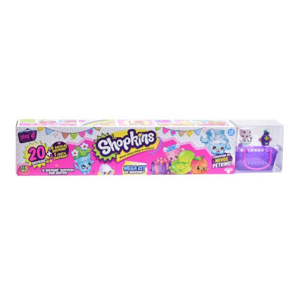 Shopkins Mega Kit 20 Personagens - Série 4 - DTC