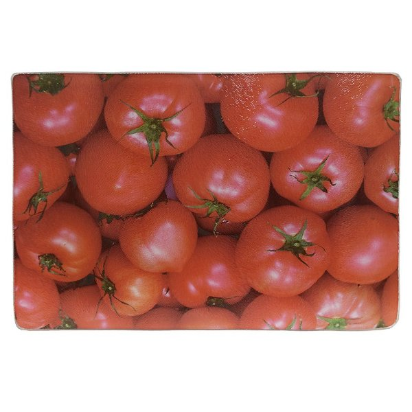 Tábua de Vidro Tomate - 20 x 30 cm - Dynasty