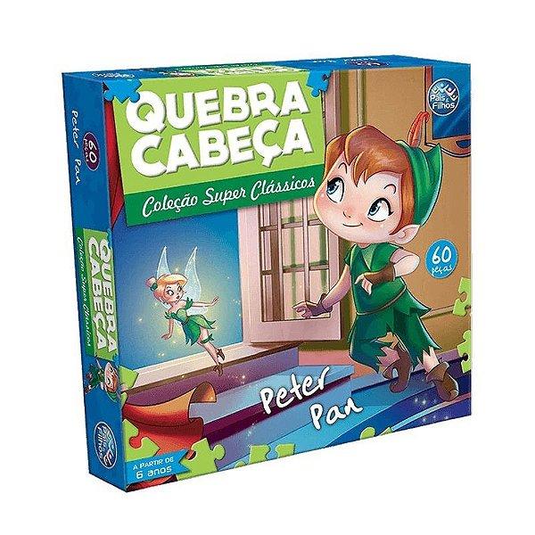 Quebra Cabeça Peter Pan - Pais e Filhos
