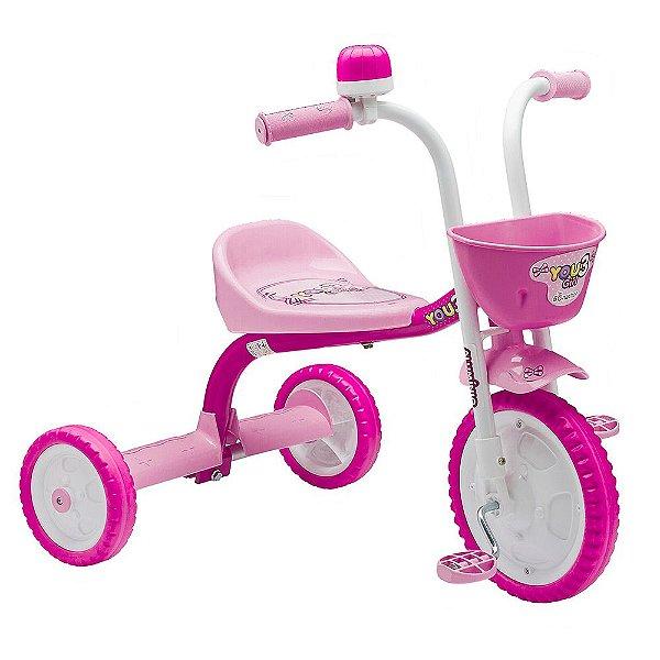 Triciclo You 3 Girl - Nathor