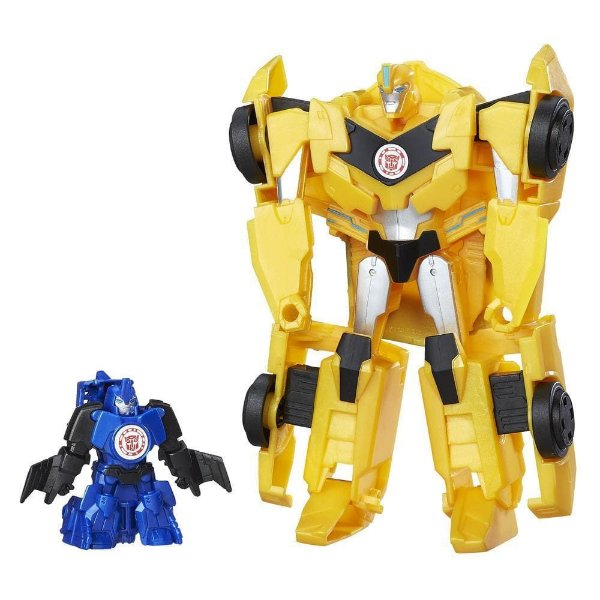Conjunto Bonecos Transformers Bumblebee e Stuntwing - Hasbro