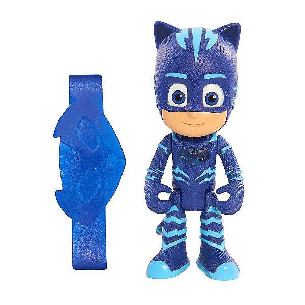 Boneco com Luz PJ Masks - Menino Gato - DTC