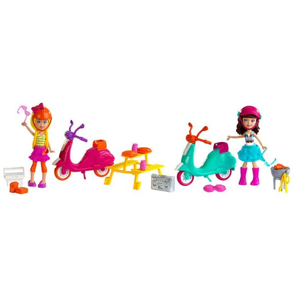Polly Pocket - Piquenique com Moto - Mattel